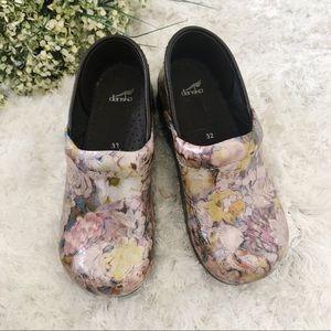 Floral Dansko Clog For Girls Size 32